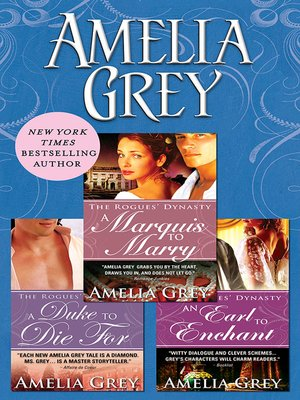 cover image of Amelia Grey Bundle