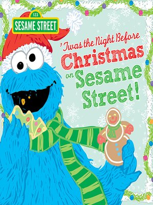 cover image of Twas the Night Before Christmas on Sesame Street