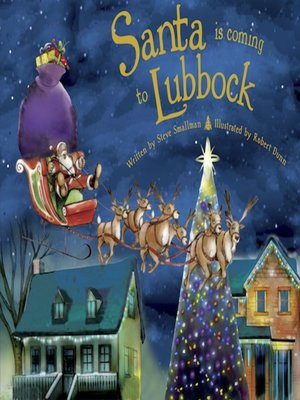 cover image of Santa Is Coming to Lubbock