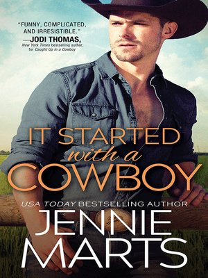 cover image of It Started with a Cowboy