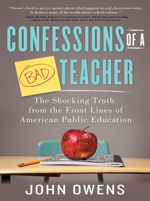 cover image of Confessions of a Bad Teacher