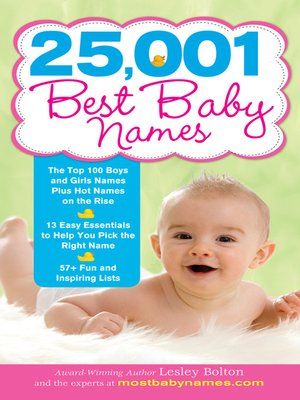 cover image of 25,001 Best Baby Names