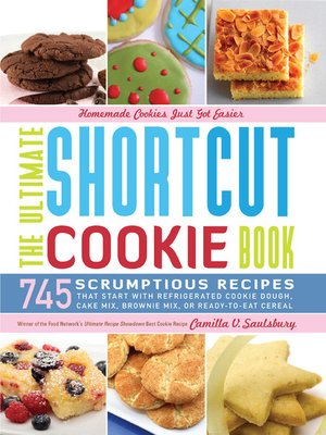 cover image of The Ultimate Shortcut Cookie Book