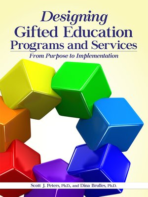 cover image of Designing Gifted Education Programs and Services