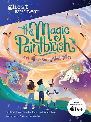 cover image of The Magic Paintbrush and Other Enchanted Tales