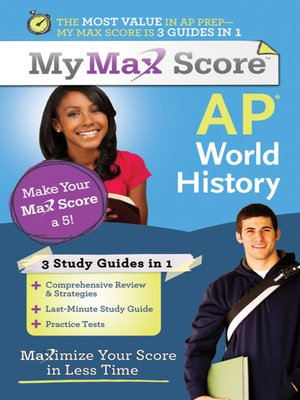 cover image of My Max Score AP World History