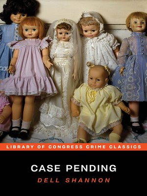 cover image of Case Pending