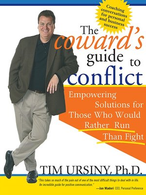 cover image of The Coward's Guide to Conflict