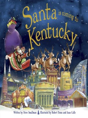 cover image of Santa Is Coming to Kentucky