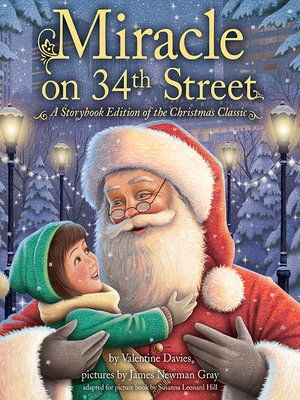 cover image of Miracle on 34th Street