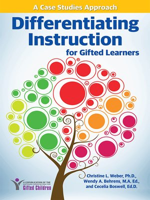 cover image of Differentiating Instruction for Gifted Learners