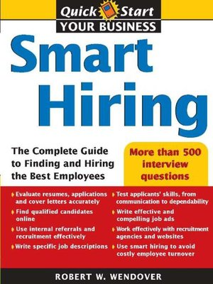cover image of Smart Hiring
