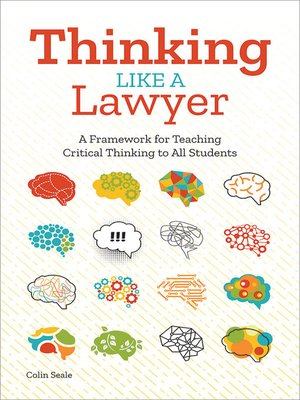 cover image of Thinking Like a Lawyer