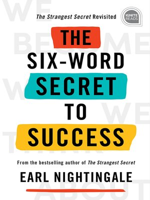 cover image of The Six-Word Secret to Success