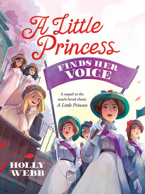cover image of A Little Princess Finds Her Voice