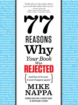cover image of 77 Reasons Why Your Book Was Rejected