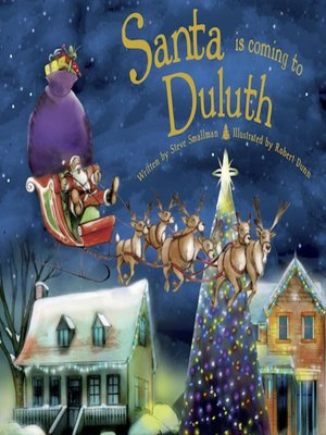 cover image of Santa Is Coming to Duluth