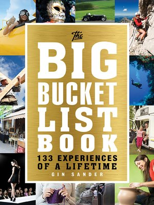 cover image of The Big Bucket List Book