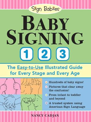 cover image of Baby Signing 1-2-3