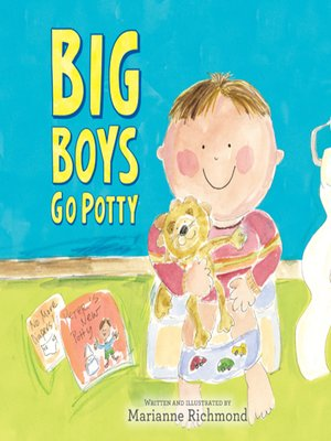 cover image of Big Boys Go Potty
