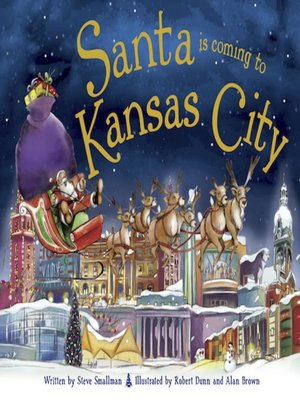 cover image of Santa Is Coming to Kansas City