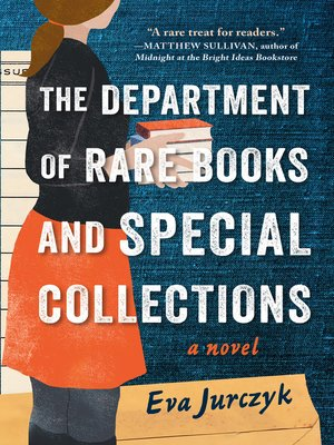 cover image of The Department of Rare Books and Special Collections
