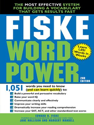 cover image of Fiske WordPower
