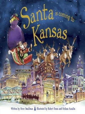 cover image of Santa Is Coming to Kansas