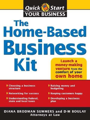 cover image of The Home-Based Business Kit