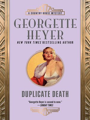 cover image of Duplicate Death