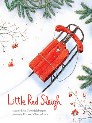 cover image of Little Red Sleigh