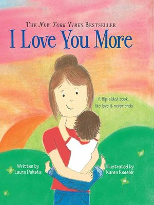 cover image of I Love You More Padded Board Book