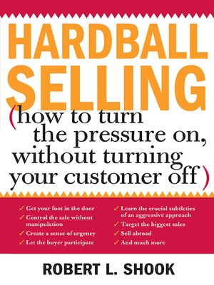 cover image of Hardball Selling