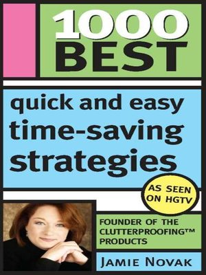 cover image of 1000 Best Quick and Easy Time-Saving Strategies