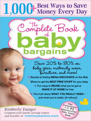 cover image of The Complete Book of Baby Bargains