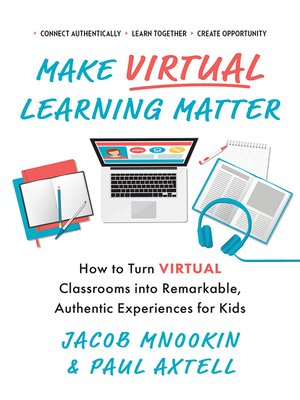 cover image of Make Virtual Learning Matter