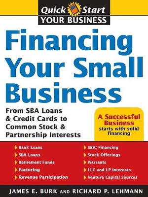 cover image of Financing Your Small Business