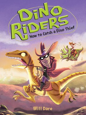 cover image of How to Catch a Dino Thief