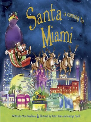 cover image of Santa Is Coming to Miami