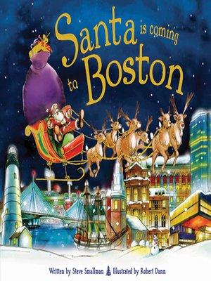 cover image of Santa Is Coming to Boston