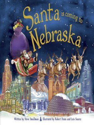 cover image of Santa Is Coming to Nebraska
