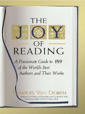 cover image of The Joy of Reading