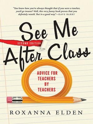 cover image of See Me After Class