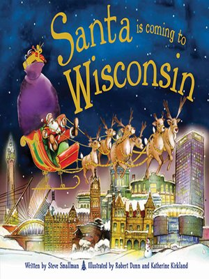 cover image of Santa Is Coming to Wisconsin