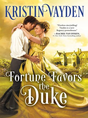 cover image of Fortune Favors the Duke