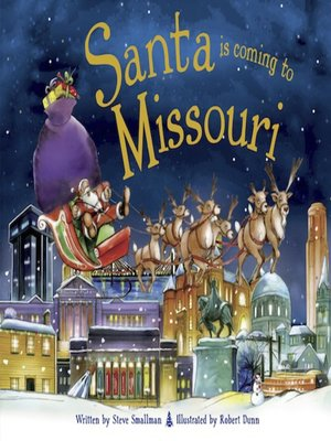 cover image of Santa Is Coming to Missouri