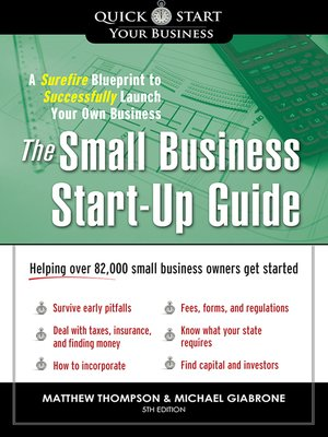 cover image of The Small Business Start-Up Guide