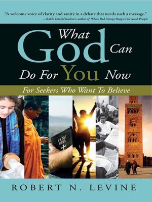 cover image of What God Can Do for You Now
