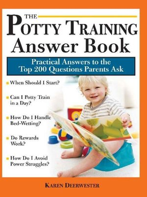 cover image of The Potty Training Answer Book