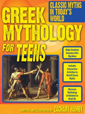 cover image of Greek Mythology for Teens